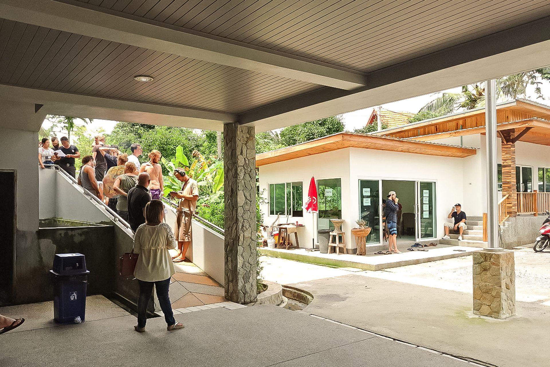 продление тайской визы, иммиграционный офис на Самуи, Таиланд, виза, тайская виза, как продлить визу, immigration office, Samui, visa, Thailand