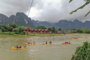 каяки, Vang Vieng, laos, Лаос, Ванг Вьенг, relax, голубая лагуна, экскурсии,