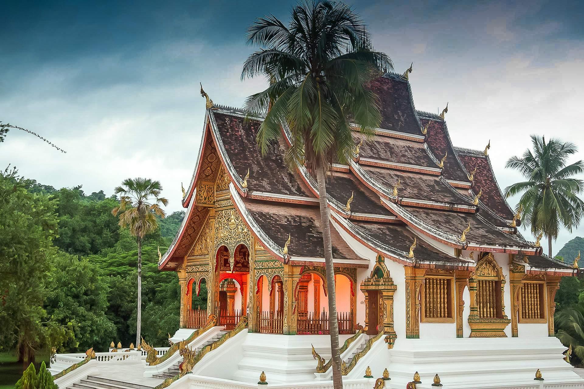 Haw Pha Bang, Luang Prabang, Laos, Луанг Прабанг, Лаос, , буддизм, традиции, культура, достопримечательность