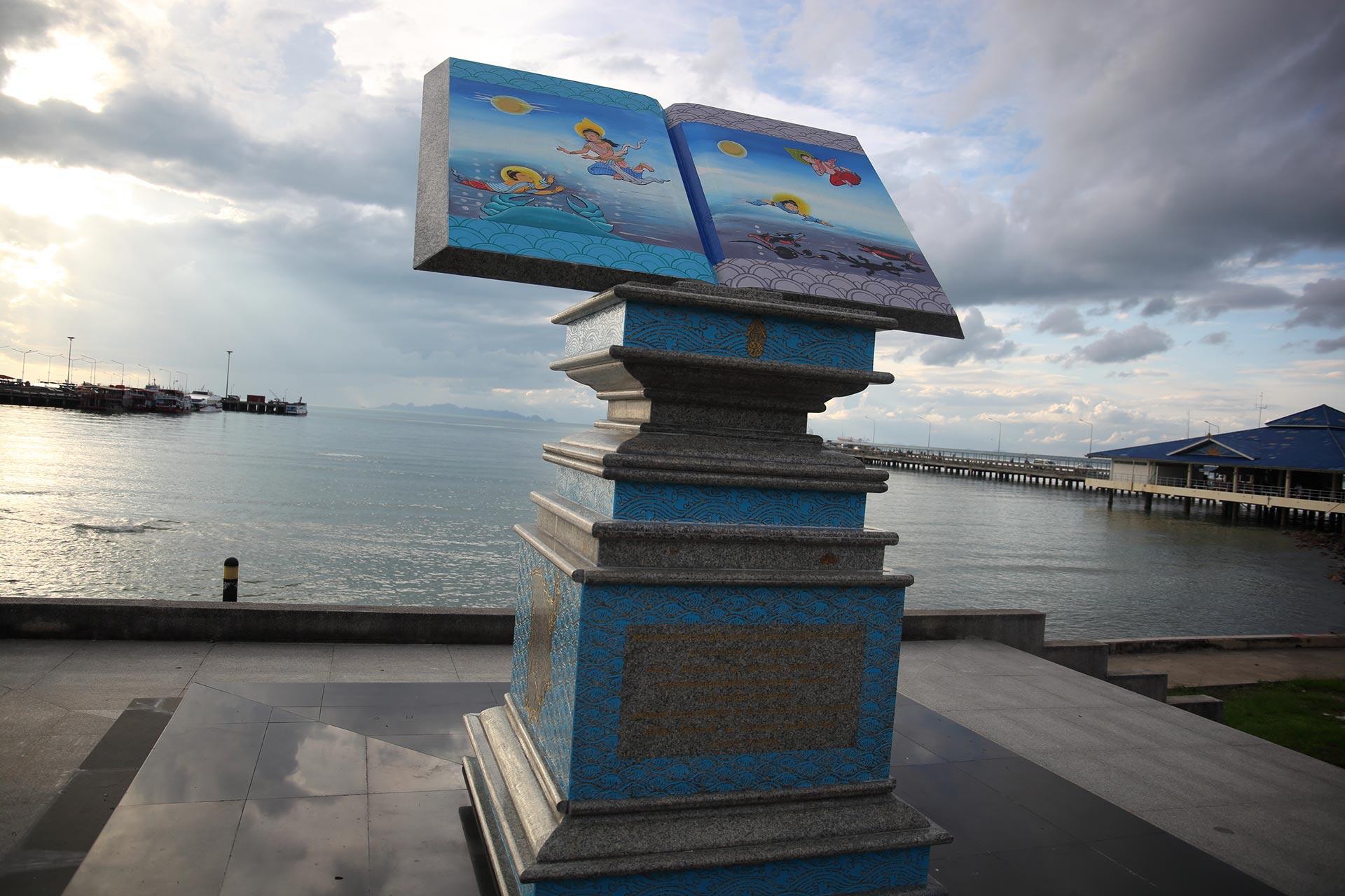 visarun visa визаран book Naton pier Samui