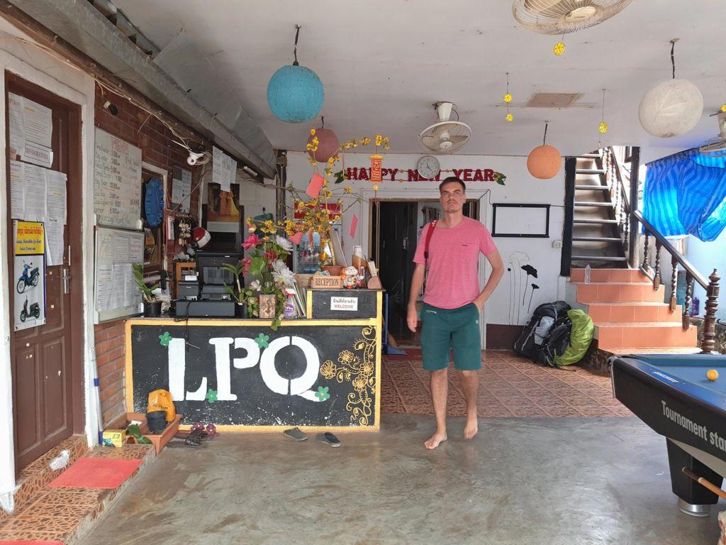 LPQ Backpackers, Luang Prabang, Laos, Луанг Прабанг, Лаос, hotel