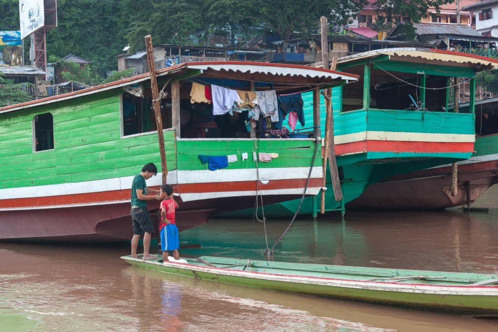 Luang Prabang, Laos, Луанг Прабанг, Лаос, Меконг, круиз по реке, из Лаоса в Таиланд, river cruise Mekong