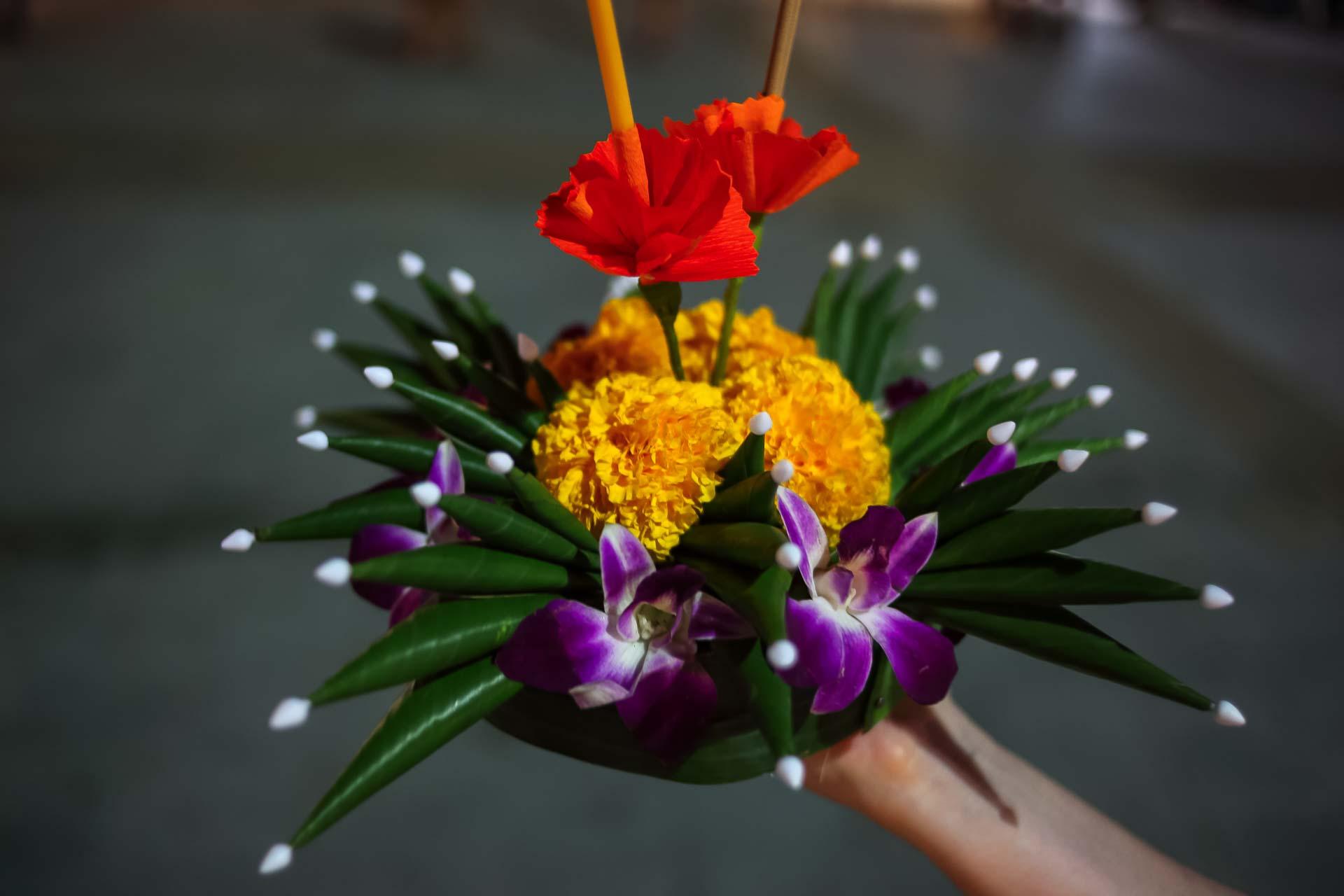 kratong, праздник, Лои Кратонг, лодочки, фонарики, традиции, Таиланд,