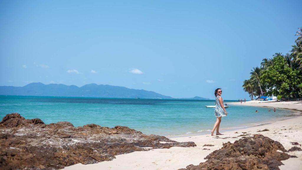 Samui Thailand life island Paradise sea summer palm travel