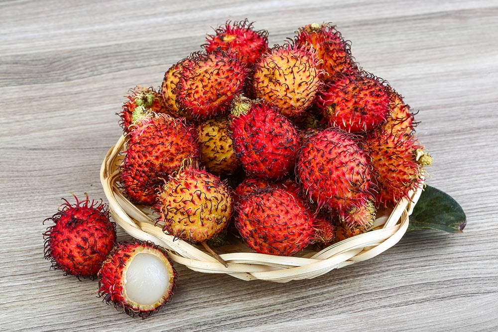 Fruit, Thailand, фрукты, тайские фрукты, фрукты Таиланда, рамбутан, Rambutan