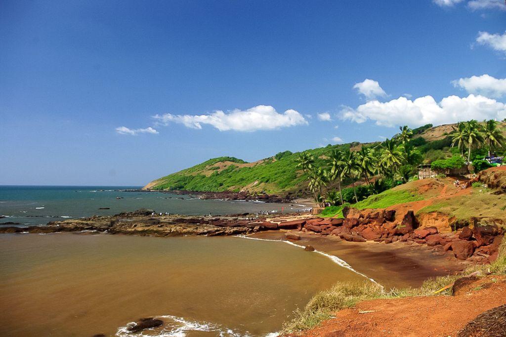 India, Индия, Гоа, Goa, beach, пляж, северный гоа
