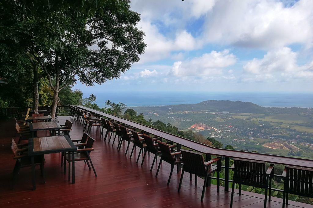 Giant Summit Samui, viewpoint, viewing point, смотровая площадка, обзорная площадка, панорамный ресторан, вьюпоинт, Самуи, шикарный вид