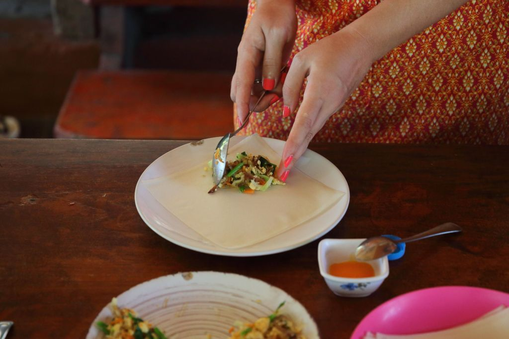 мастер-класс, кулинарные курсы, рецепт, тайская кухня, готовим тайские блюда, как приготовить, Таиланд, Самуи, развлечение, master class, cooking courses, recipe, Thai kitchen, cooking Thai dishes, how to cook, Thailand, Samui, entertainment, spring rolls, спринг роллы, весенние роллы, спринг рол