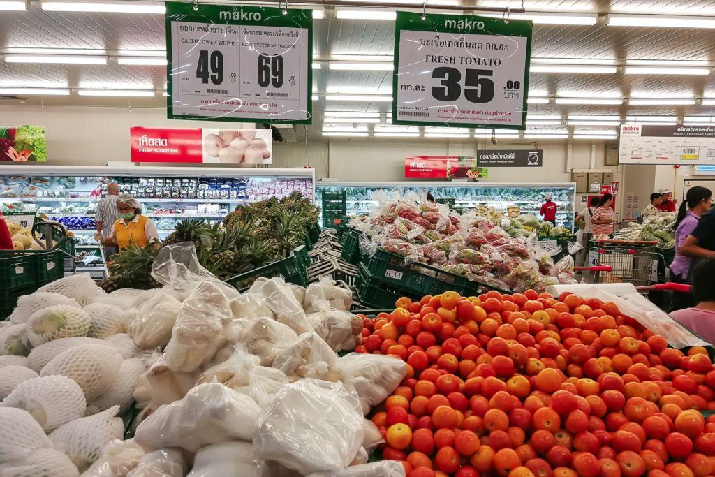 помидоры, грибы, food price Thailand, Tesko Lotus, Makro, Samui supermarket, цены на Самуи, цены на продукты в Таиланде, тайский супермаркет, обзор цен в Таиланде, обзор цена на Самуи, сколько стоит мясо в Таиланде, сколько стоят морепродукты в Таиланде, цены, Макро, Теско, Самуи, Тай,