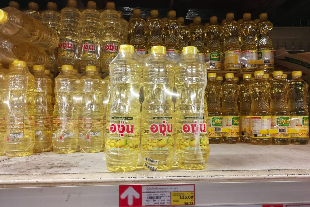 масло, Food price Thailand, Tesko Lotus, Makro, Samui supermarket, цены на Самуи, цены на продукты в Таиланде, тайский супермаркет, обзор цен в Таиланде, обзор цена на Самуи, сколько стоит мясо в Таиланде, сколько стоят морепродукты в Таиланде, цены, Макро, Теско, Самуи, Тай,
