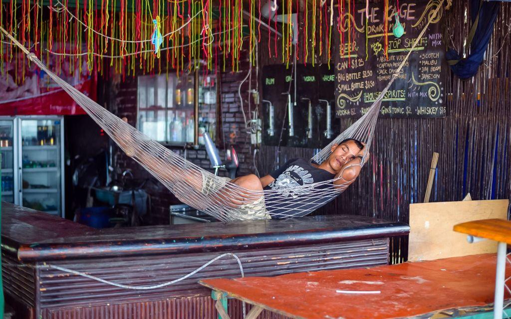 гамак, сиеста, Камбоджа, Сиануквиль, Cambodia, Sihanoukville, The City of Sihanouk, Sihanouk City
