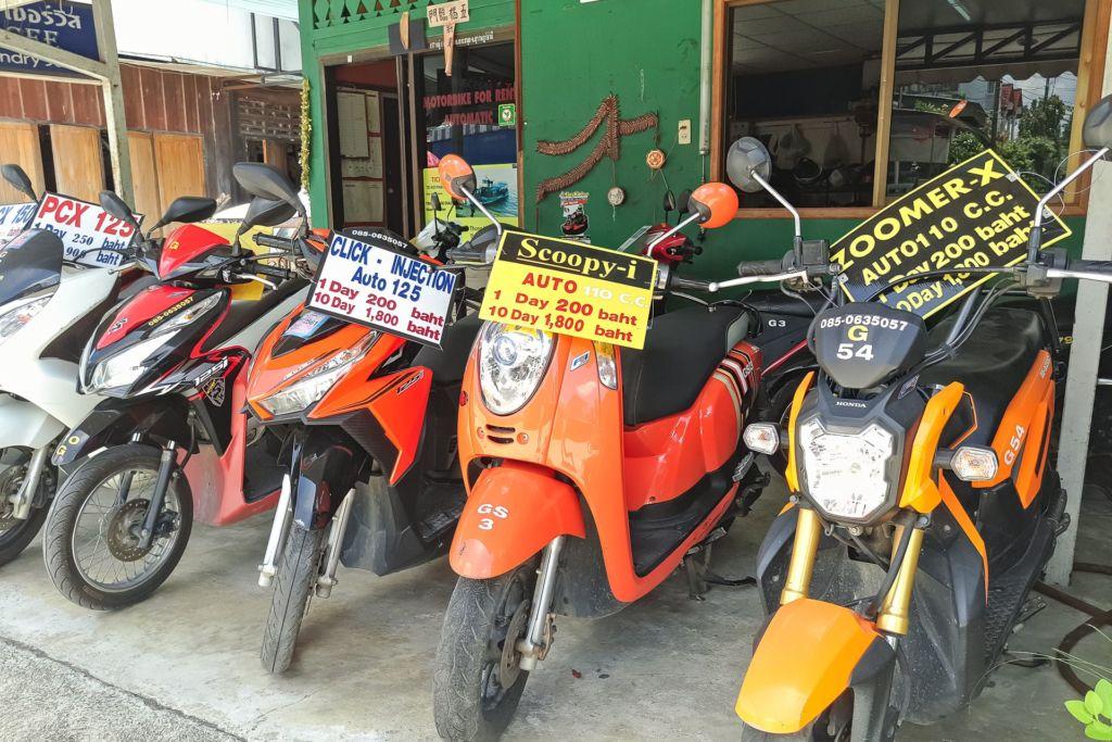 rent motobike, rent bike, Samui, Thailand, price, Самуи, аренда мотобайка, аренда байка на Самуи, бюджет на Самуи