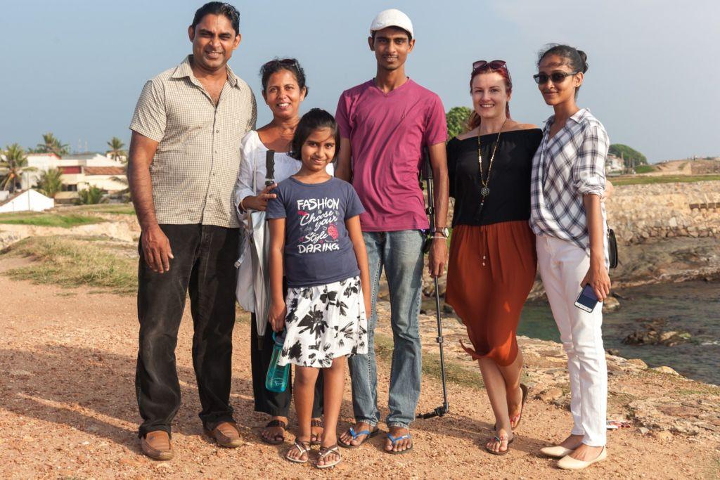 Шри-Ланка, интервью с жителем Шри-Ланки, сингальская семья
