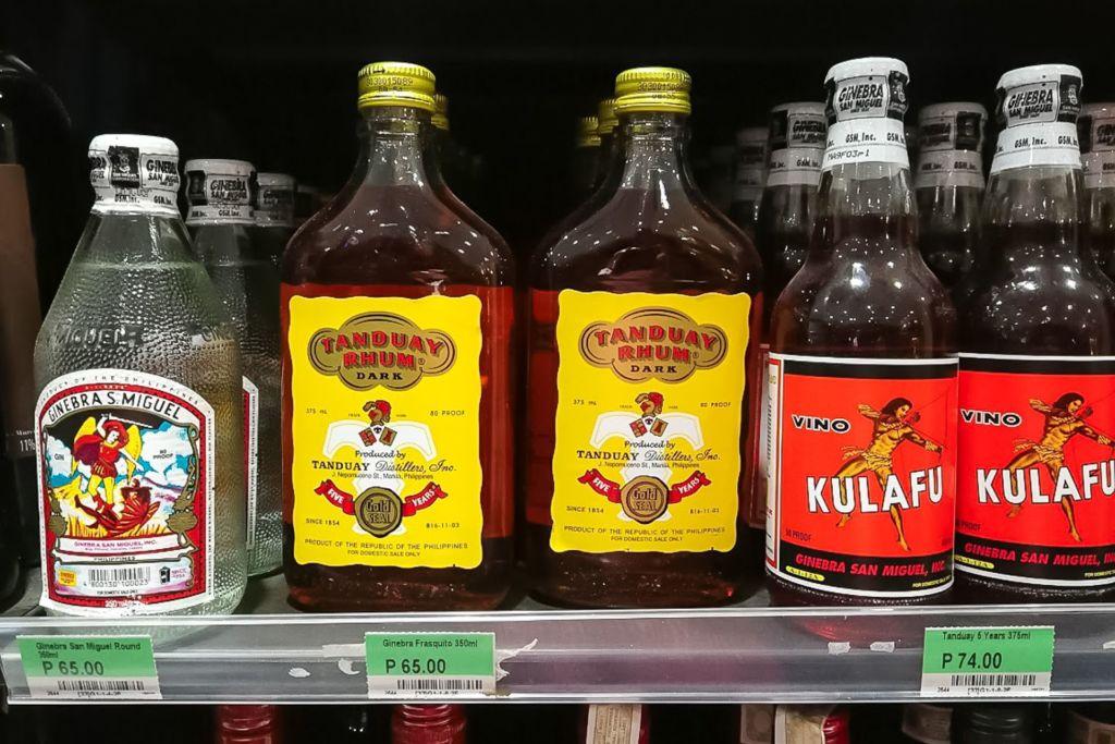 Филиппины, панглао, Бохол, Бохоль, цены на Филиппинах 2019, цены на Панглао 2019, цены на продукты на Филиппинах, цены на алкоголь на Филиппинах, сколько стоит пиво на Филиппинах, сколько стоит ром на Филиппинах, что пьют на Филиппинах, местный алкоголь на Филиппинах, алкоголь в дюти фри на Филиппинах, Панглао обзор цен, Филиппины обзор цен 2019, ром тандуай филиппины,