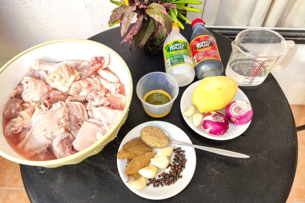 Филиппины, Панглао, Бохол, Себу, Боракай, филиппинская кухня, еда на филиппинах, что едят филиппинцы, простой рецепт курицы, оригинальный рецепт курицы, курица рецепт, курица по-филиппински, кукрица в соевом соусе и уксусе, традиционные блюда Филиппин, рецепт свинины адобо, рецепт курицы адобо, adobo chiken,
